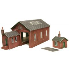 Model kit OO/HO: Goods shed - Metcalfe - PO332