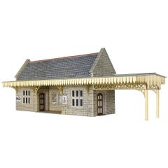 Model kit OO/HO: Wayside station shelter - Metcalfe - PO339