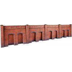 Model kit OO/HO: retaining wall - brick -  Metcalfe - PO244