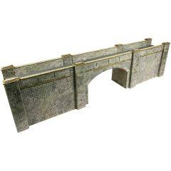 Model kit OO/HO: railway bridge - stone - Metcalfe - PO247