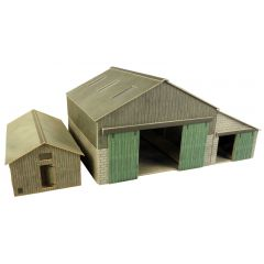 Model kit OO/HO: Manor farm buildings - Metcalfe - PO252