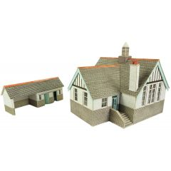 Model kit OO/HO: Village school - Metcalfe - PO253
