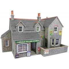 Model kit OO/HO: Village shop and cafe - Metcalfe - PO254