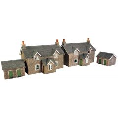Model kit OO/HO: Workers cottages - Metcalfe - PO255