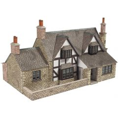 Model Kit OO - Town end cottage - Metcalfe - PO267