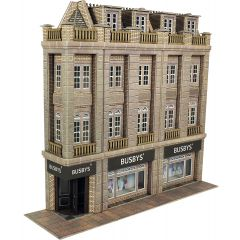 Model kit OO/HO: Low relief department store - Metcalfe - PO279