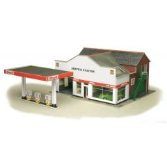 Model kit OO/HO: Service station - Metcalfe - PO281