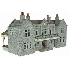 Model kit OO/HO: Mainline station Booking Hall - Metcalfe - PO320