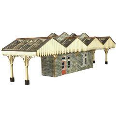 Model kit OO/HO: Island platform building - Metcalfe - PO322
