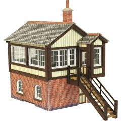 Model kit OO/HO:  GWR Signal Box - Metcalfe - PO330