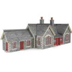 Model kit OO/HO: Settle / Carlisle railway station - Metcalfe - PO333