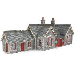 Model kit OO/HO: Settle / Carlisle railway station - Metcalfe - PO333