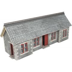 Model kit OO/HO: Settle / Carlisle railway station shelter - Metcalfe - PO334