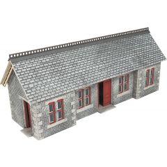 Model kit OO/HO: Settle / Carlisle railway station shelter - Metcalfe - PO334
