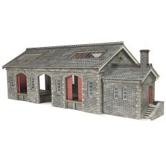 Model kit OO/HO: Settle Carlisle Railway Goods shed - Metcalfe - PO336