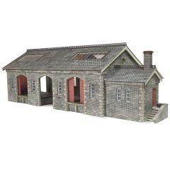 Model kit OO/HO: Settle Carlisle Railway Goods shed - Metcalfe - PO336
