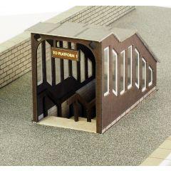 Model kit OO/HO: platform underpass- Metcalfe - PO400