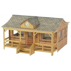 Model kit OO/HO: Wooden Pavilion- Metcalfe - PO410