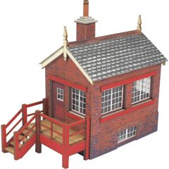 Model kit OO/HO:  Small signal box- Metcalfe - PO430