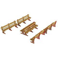 Model kit OO/HO: Platform benches - Metcalfe - PO502