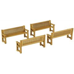 Model kit OO/HO: Park benches - Metcalfe - PO503