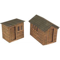 Model kit OO/HO: Garden sheds - Metcalfe - PO512