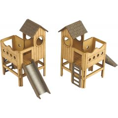 Model kit OO/HO: Chldrens play area - Metcalfe - PO513