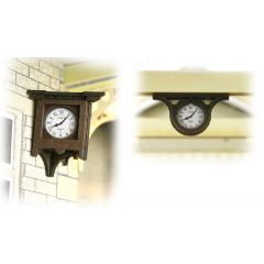 Model kit OO/HO: Station Clocks - Metcalfe - PO515