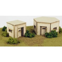Model kit OO/HO: Pillboxes - Metcalfe - PO520