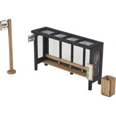 Model kit OO/HO: Bus shelter - Metcalfe - PO525