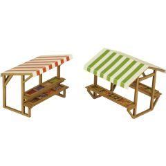 Model kit OO/HO: Market stalls - Metcalfe - PO530