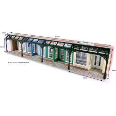 Model kit OO/HO: Arcade fronts - Metcalfe - PO572