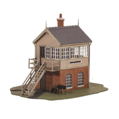 Model kit OO: GWR Signal box