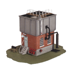 Model kit OO: Square Water Tower