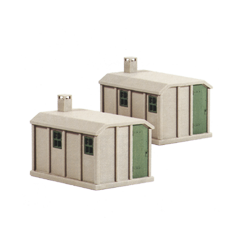 Model kit OO: 2 SR concrete huts