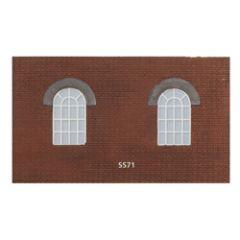 SS71 Round top windows