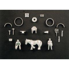 SSAM101 Scenic accessory: Village blacksmith set