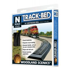 Track Bed N scale Woodland scenics ST1475