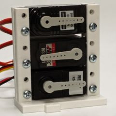 Model 2 servo support for up to three standard servos