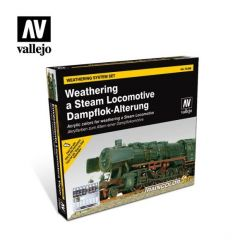weatering system set steam locomotive - Vallejo Model Color  -  Acrylic Paint