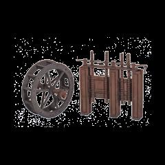 SS84 Waterwheel and sluice gates