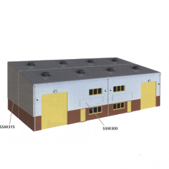 Model kit OO: Industrial / Retail unit extension kit