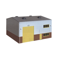 Model kit OO: Industrial / Retail unit