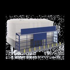 Model kit OO: Supermarket frontage kit