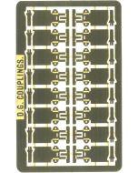 DGD TT gauge and OO9 D.G. autocouplings