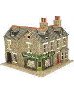 Model kit OO/HO: Corner shop stone - Metcalfe - PO264