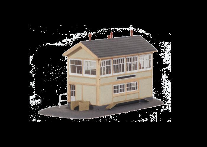 Model Kit N Gwr Wooden Signal Box