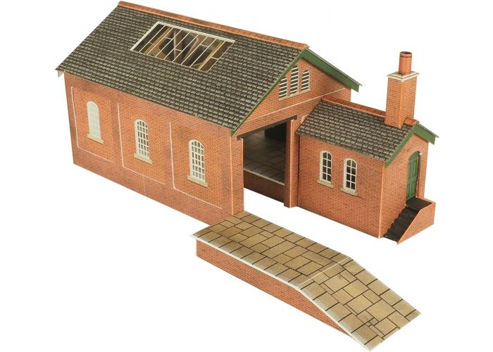 Model kit N: Goods shed - Metcalfe - PN112