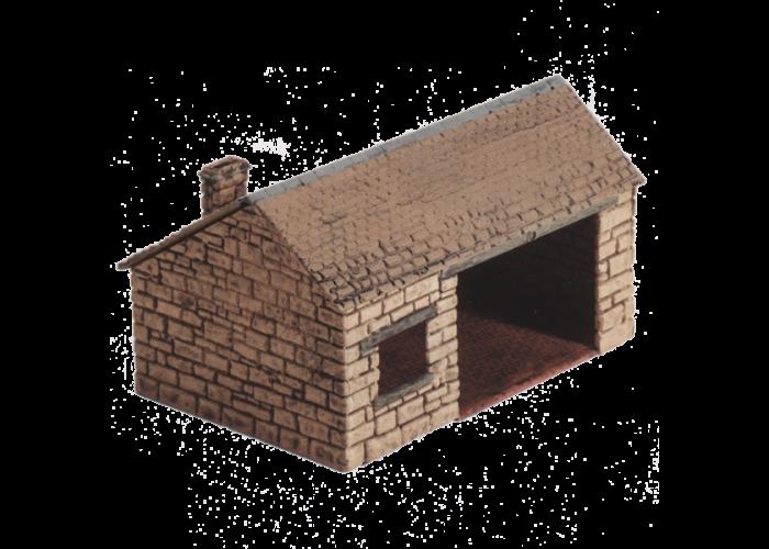 Model kit OO: village forge