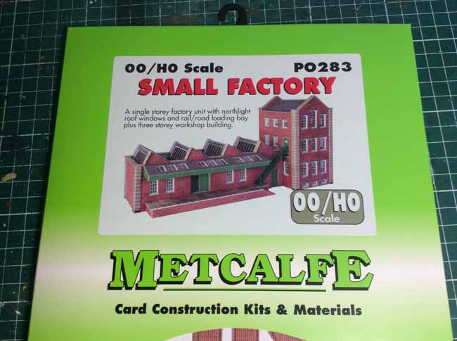 00 scale Small factory unit Card Kit